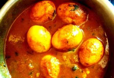 Indian Spicy Egg Curry Recipe