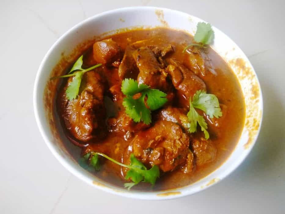 Easy Chicken Liver Curry Recipe