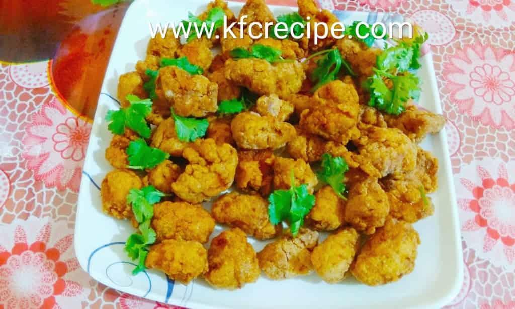 Chicken Popcorn Recipe – KFC Style Popcorn Chicken