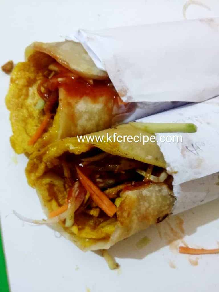 Chicken Egg Roll Recipe- How to Make Chicken Roll